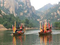 和八戒赛龙舟、吃粽子,嵖岈山端午节的别样风情