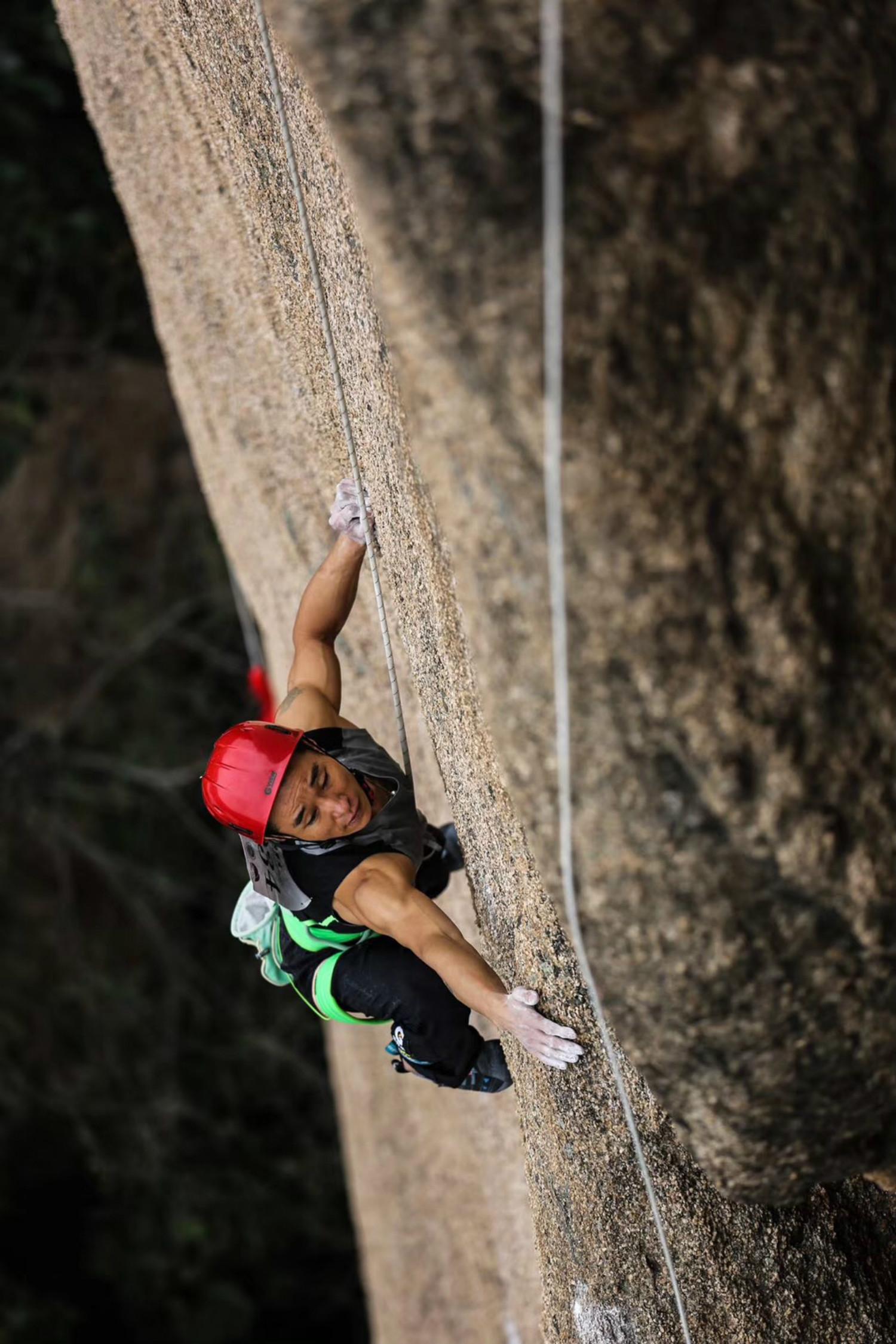 2018中国攀岩自然岩壁系列赛(驻马店嵖岈山站)圆满结束!围观天磨峰上的岩壁芭蕾!